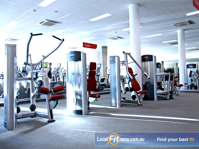 Ian Thorpe Aquatic Centre Gym Potts Point  | The latest resistance machines to help tone and