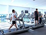 Personal entertainment screens on our Ultimo cardio machines.