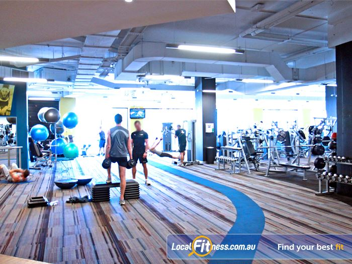 Goodlife Health Clubs Gym Cottesloe    Goodlife Subiaco gym provides a relaxing free-weights and