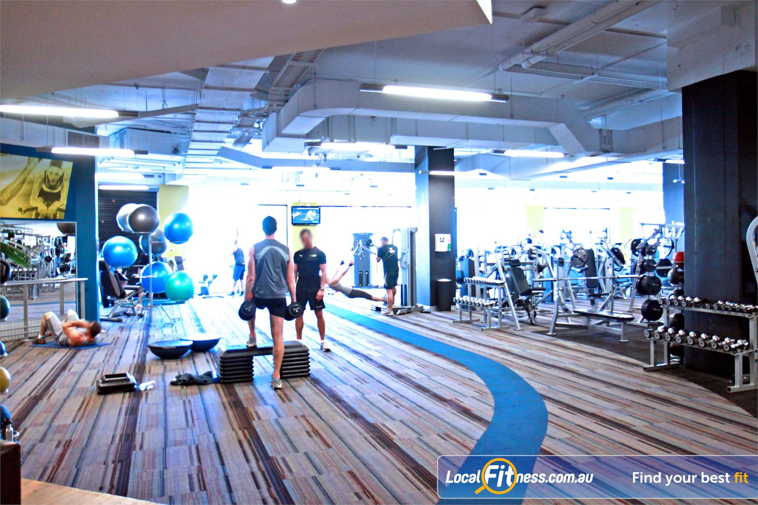Goodlife Health Clubs Subiaco Goodlife Subiaco gym provides a relaxing free-weights and strength training environment.
