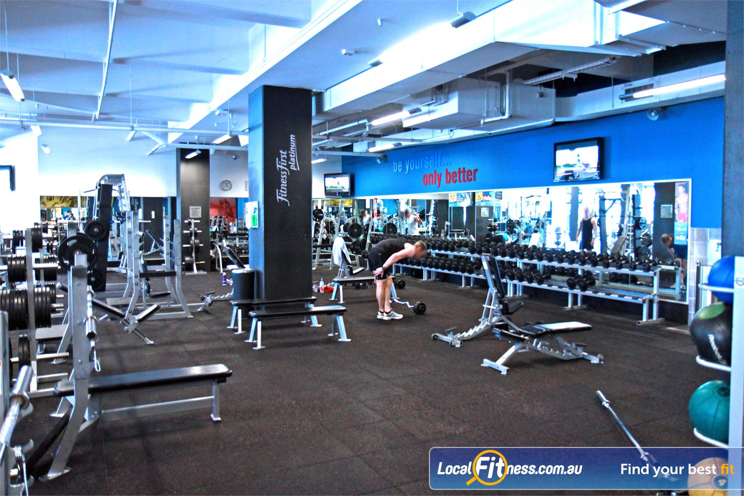 Goodlife Health Clubs Subiaco Goodlife Subiaco gym provides an extensive range of free-weights.