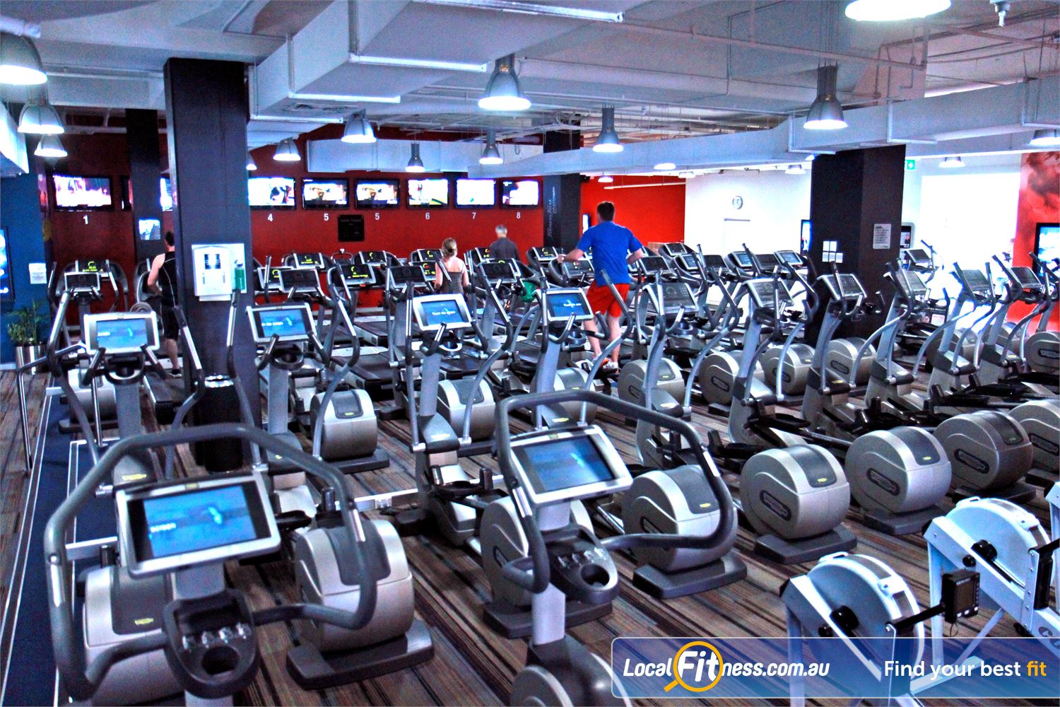 Goodlife Health Clubs Near Jolimont Our Goodlife Subiaco gym includes individual LCD screens on cardio equipment.