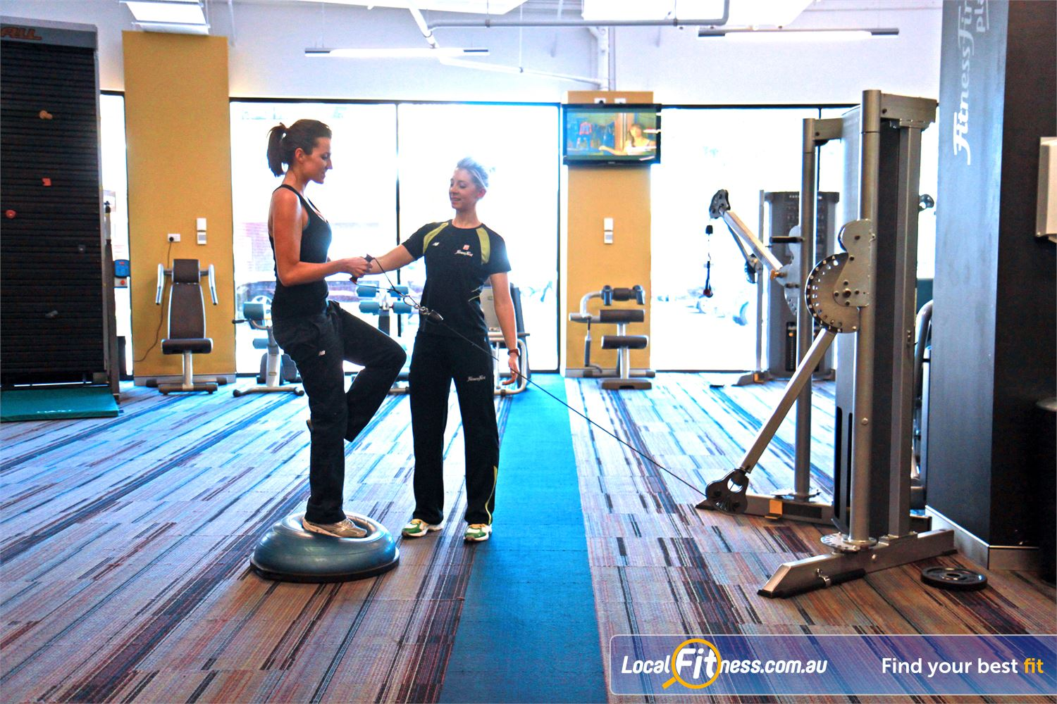 Goodlife Health Clubs Near West Leederville Subiaco personal trainers can vary your workouts to include functional training.