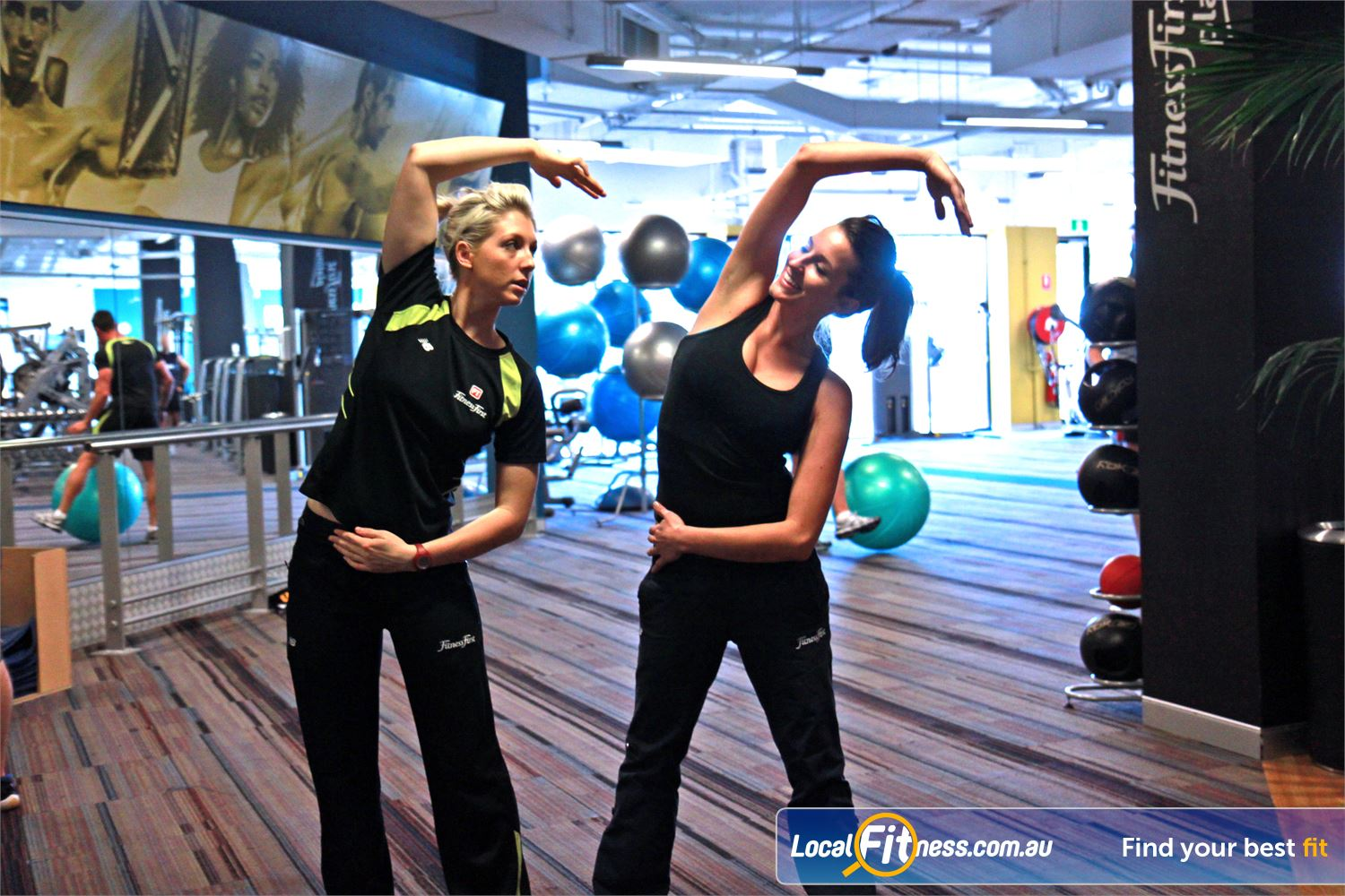 Goodlife Health Clubs Subiaco Goodlife staff can help you with your stretching and flexibility.