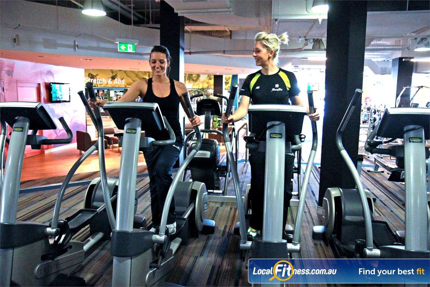 Goodlife Health Clubs Subiaco Our supportive Subiaco gym team can help you with your cardio training.