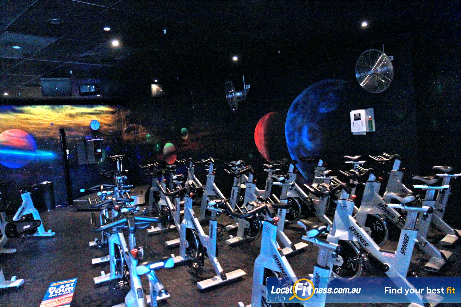 Goodlife Health Clubs Subiaco Goodlife Subiaco includes our signature Cosmic spin cycle classes.