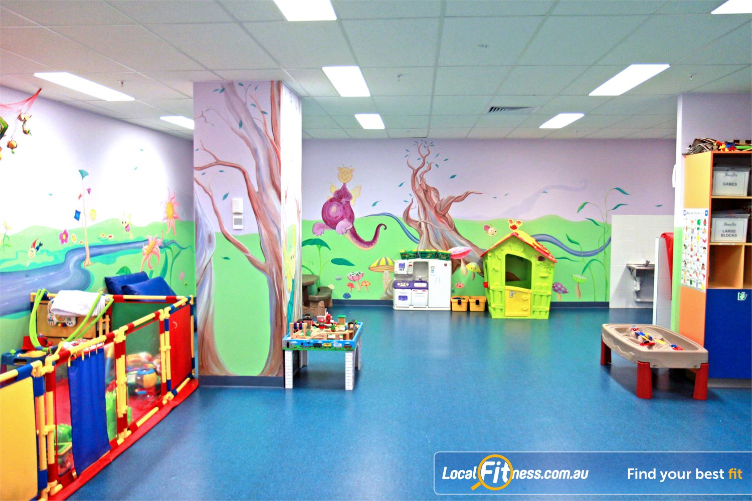 Goodlife Health Clubs Near West Leederville Convenient Subiaco Child Minding services.