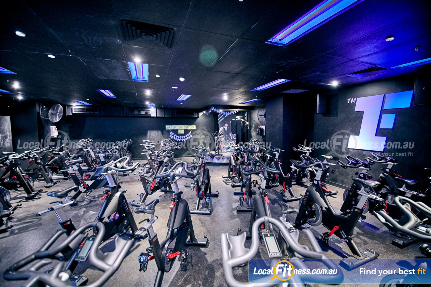 Fitness First Erina Fair Near Picketts Valley The dedicated Erina Fair spin cycle studio is a great way to burn calories fast.