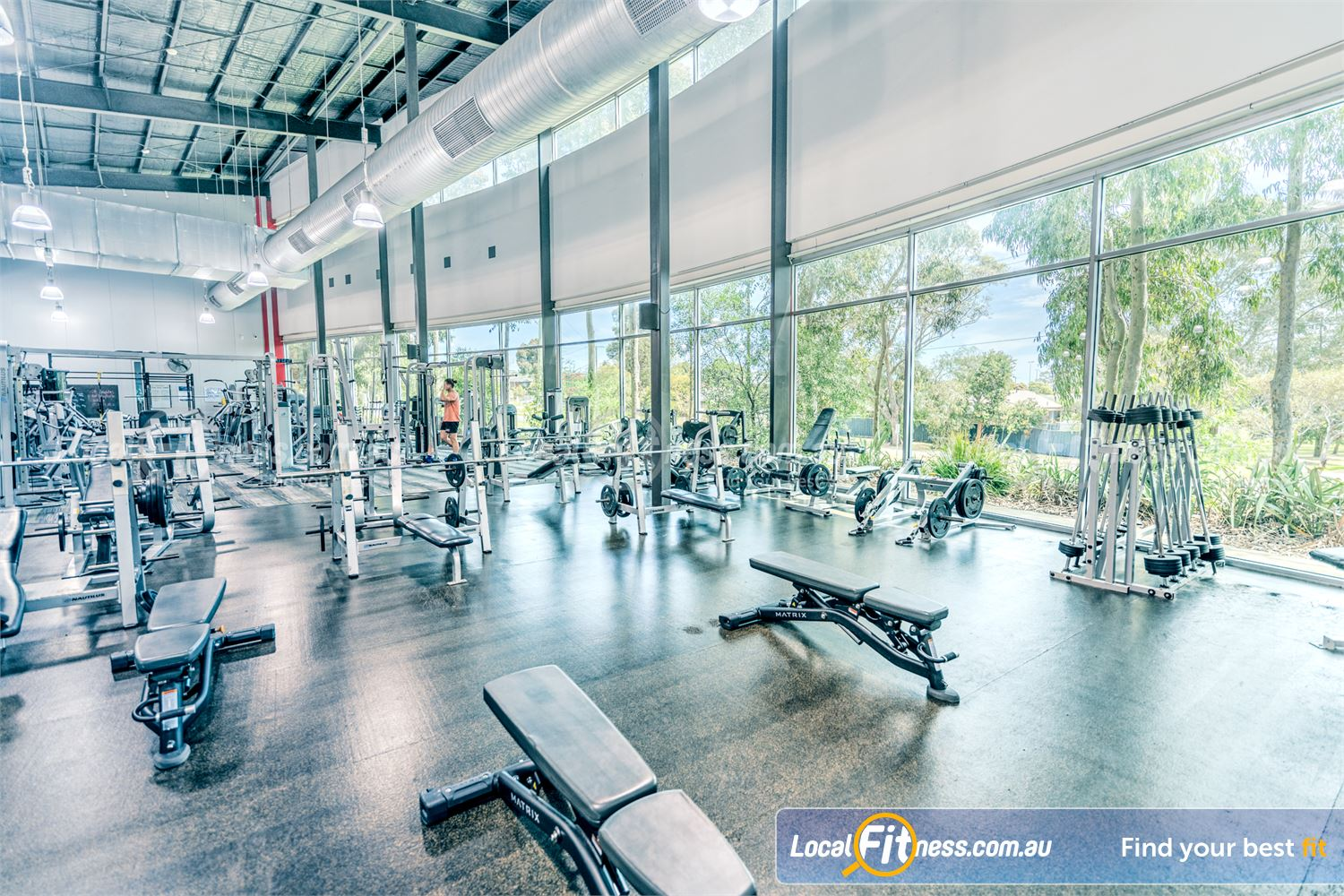 Goodlife Health Clubs Karingal Welcome to the Karingal gym with stunning treescape views.