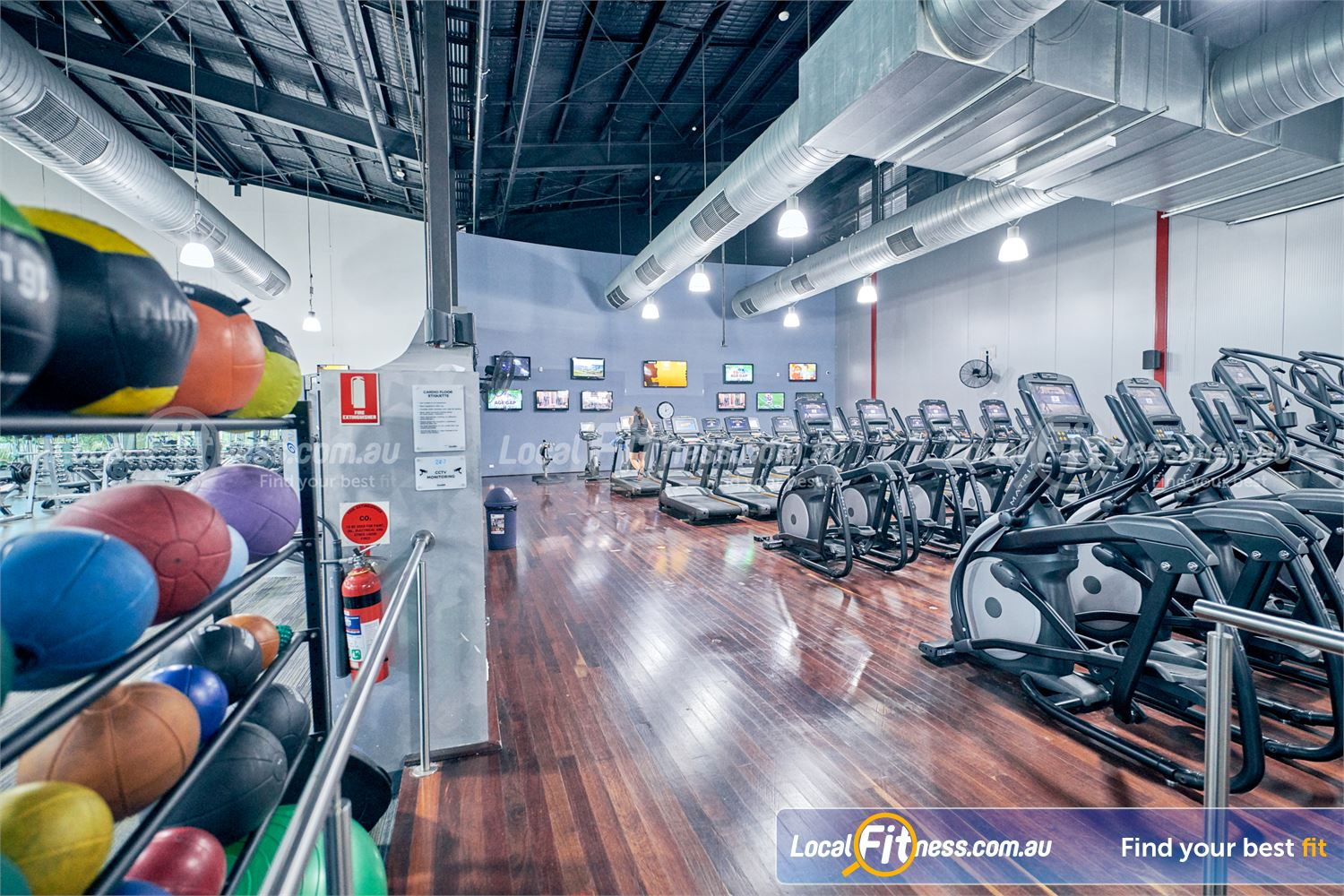 Goodlife Health Clubs Karingal Our 24 hour Karingal gym includes a state of the art cardio area.