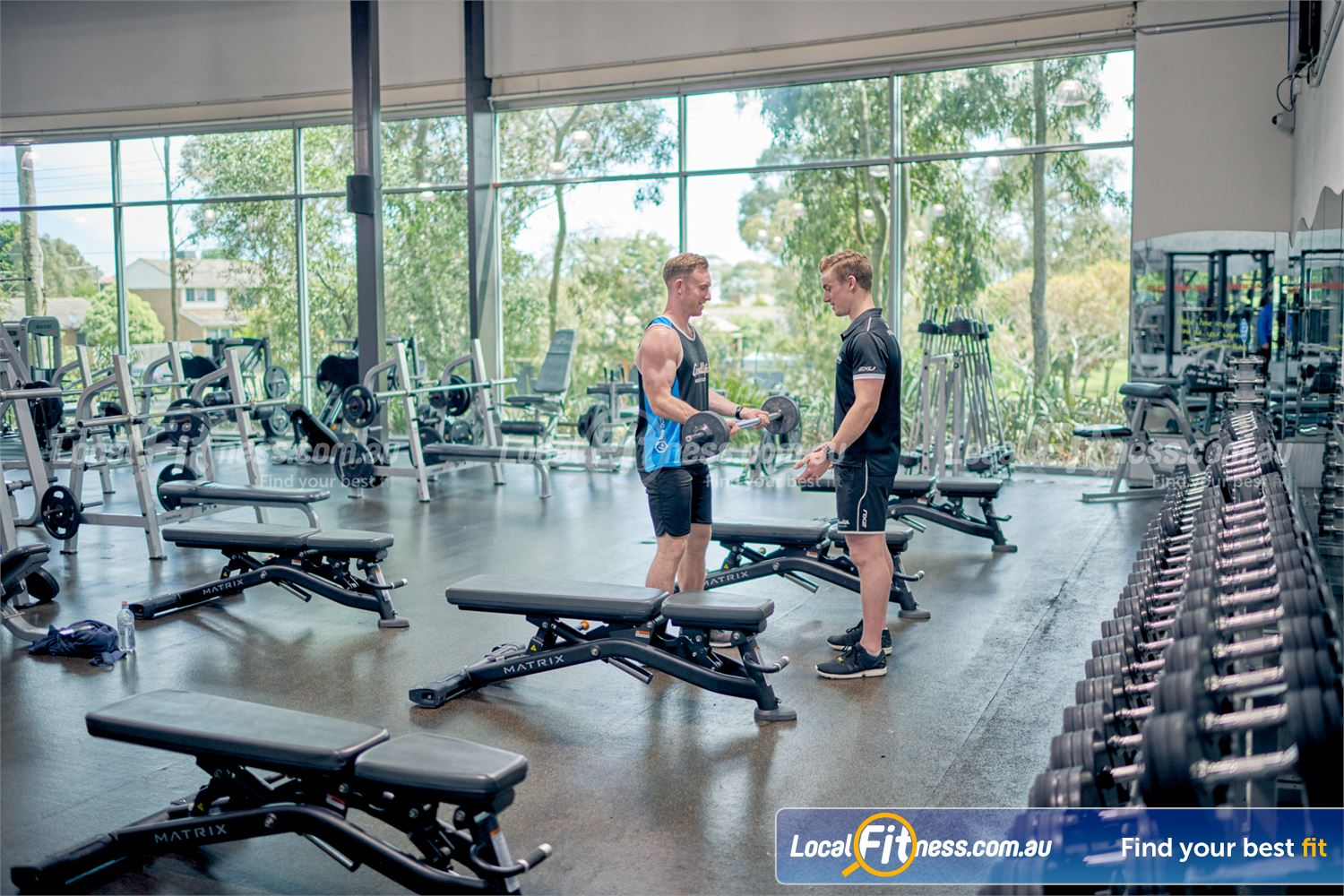 Goodlife Health Clubs Near Baxter Our Karingal gym offers a full range of dumbbells, benches, dumbbells and more.