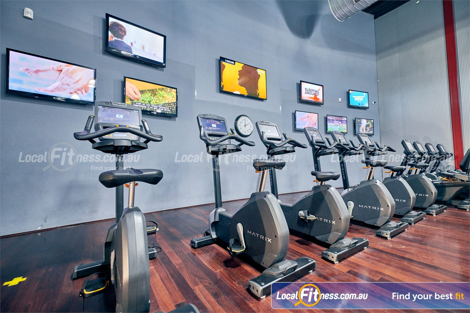 Goodlife Health Clubs Near Langwarrin Tune into your favourite shows on our entertainment wall or personal screen.