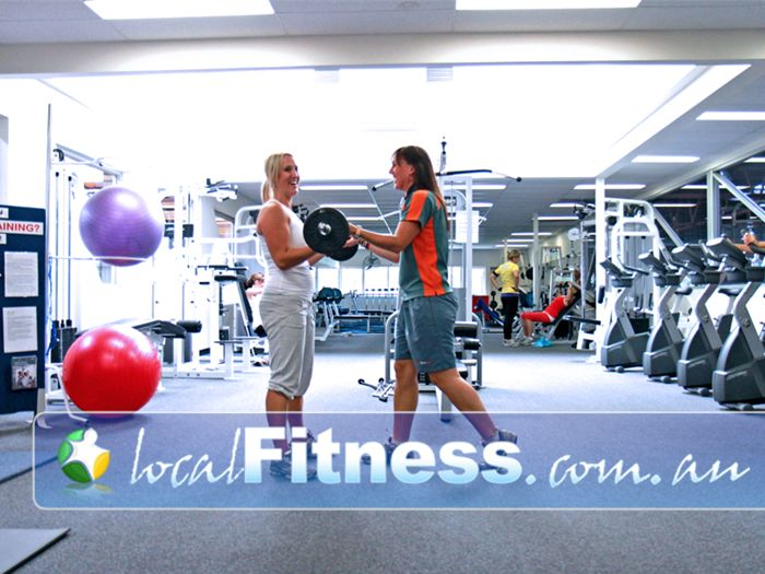 Diamond Valley Sports & Fitness Centre Greensborough Qualified and helpful Greensborough personal trainers are always on hand.