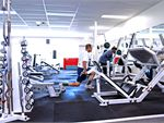 Diamond Valley Sports & Fitness Centre Saint Helena Gym Fitness The free-weights training area