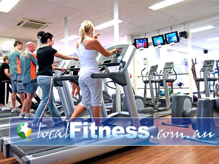 Diamond Valley Sports & Fitness Centre Near Eltham North Tune into your favorite shows in our cardio theatre.