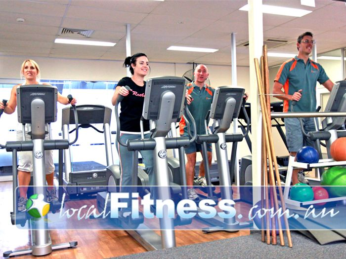 Diamond Valley Sports & Fitness Centre Greensborough State of the art Life Fitness equipment in our cardio theatre.