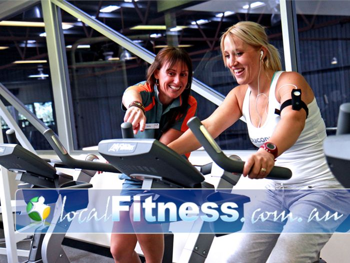 Diamond Valley Sports & Fitness Centre Near Saint Helena Friendly Greensborough personal trainers will help you lose weight.
