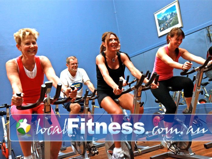 Diamond Valley Sports & Fitness Centre Near Eltham North Join in on the fun of our popular Greensborough spin cycle classes.