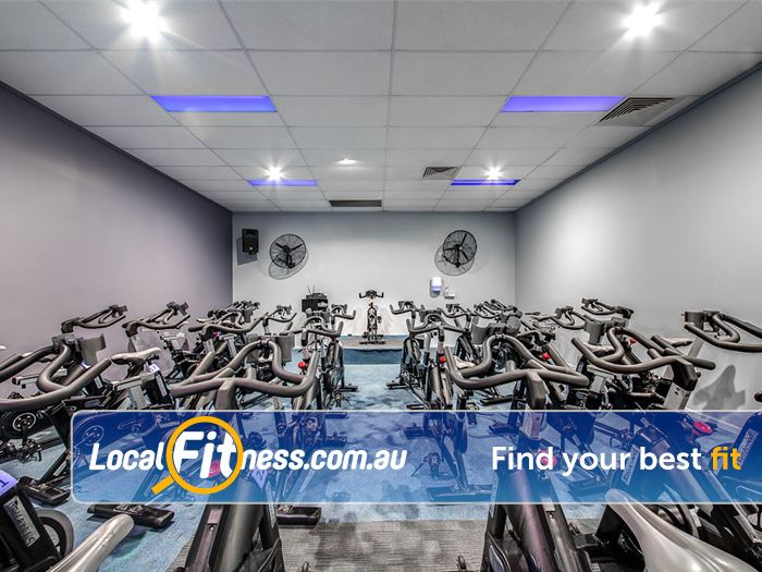 MyFitness Club Gym Noosaville  | Burn calories with our Noosaville spin cycle classes.