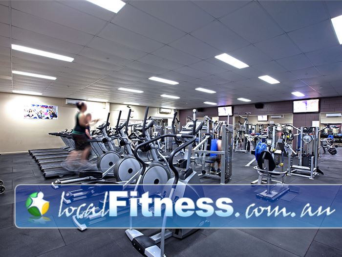 PCYC Gym Loganholme  | Our Beenleigh gym includes a full range of