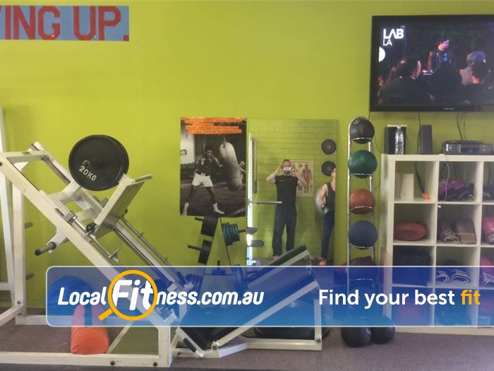Healthy Vibes Personal Training Near Mont Albert North Our Bulleen gym area includes strength training equipment.
