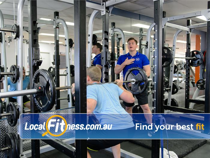 Plus Fitness 24/7 Thornleigh Our Thornleigh gym team can get you into free-weigth training.