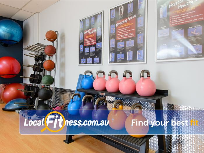 Plus Fitness 24/7 Near Cherrybrook Get into functional training with kettlebells.
