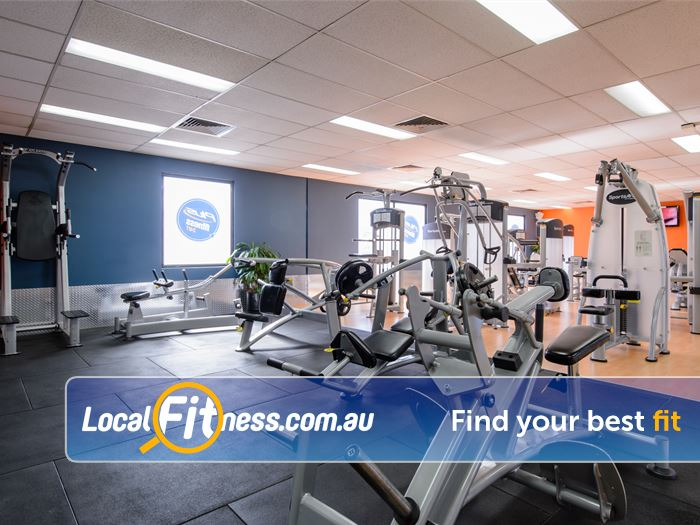 Plus Fitness 24/7 Thornleigh Our fully equipped range includes easy to use pin-loading machines and free-weights.