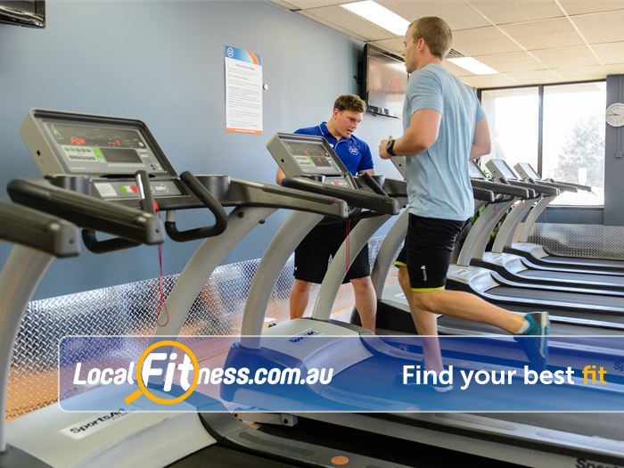 Plus Fitness 24/7 Near North Epping Thornleigh gym staff will help you with your cardio goals.
