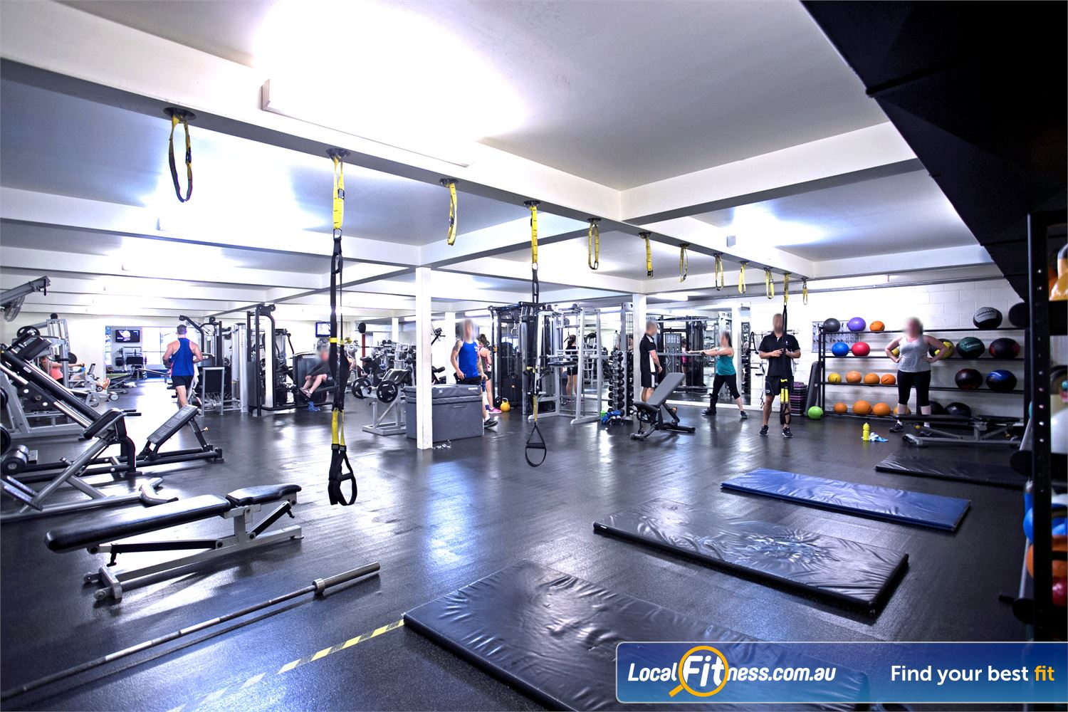 Goodlife Health Clubs Mitcham Kingswood Our Kingswood gym features a functional training zone including TRX.