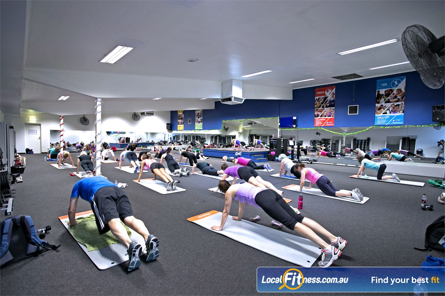 Goodlife Health Clubs Mitcham Near Netherby Popular classes such as Kingswood Yoga and Pilates run regularly.