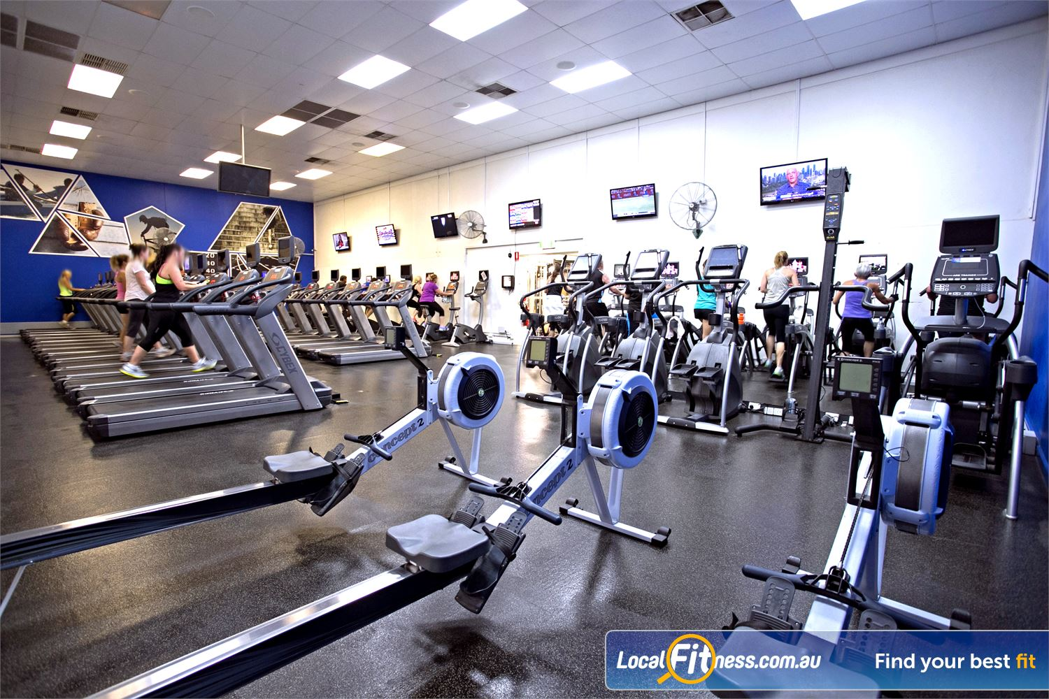 Goodlife Health Clubs Mitcham Kingswood The latest cycle bikes, cross trainers and treadmills from Life Fitness.