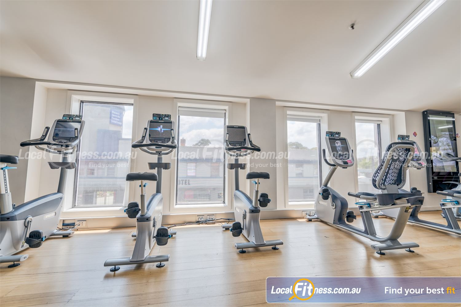Fernwood Fitness Near Canterbury Our Fernwood Camberwell womens gym provides sweeping views of Camberwell Rd.