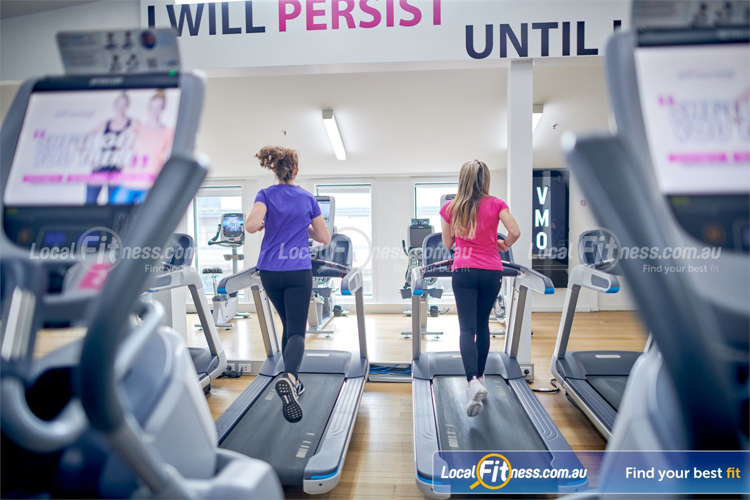 Fernwood Fitness Camberwell At Fernwood Camberwell, we provide 24-hour gym access to our cardio area.