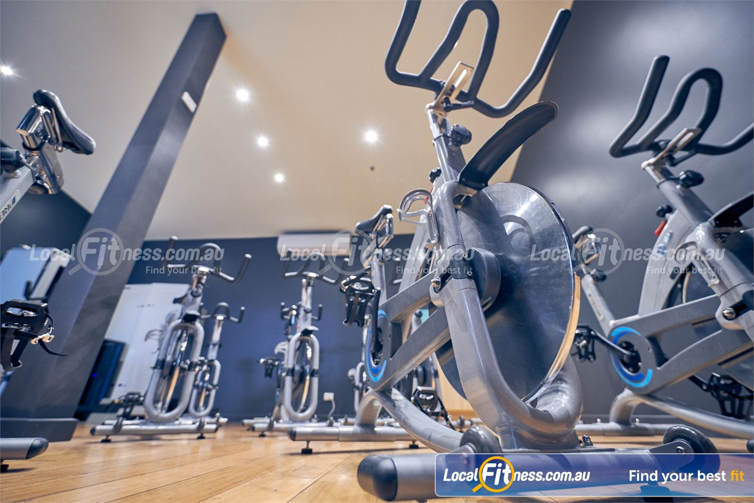 Fernwood Fitness Near Glen Iris The dedicated Camberwell spin cycle studio.