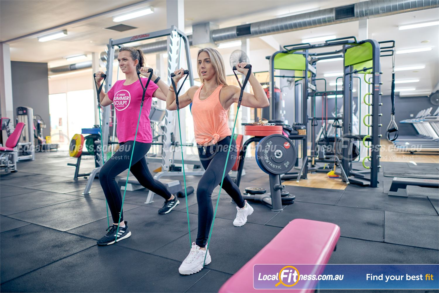 Fernwood Fitness Near Canterbury Our Fernwood Camberwell gym is fully equipped for strength training with resistance bands and more.