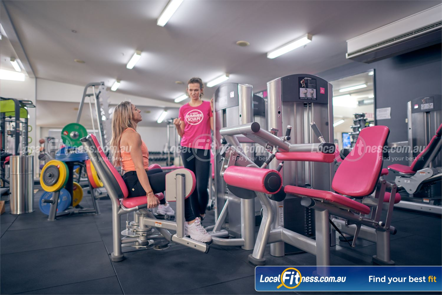Fernwood Fitness Near Canterbury Our 24 hour Fernwood gym includes state of the art pin-loading machines catered for women.