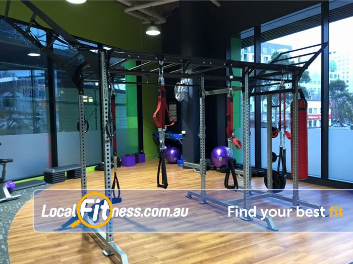 Anytime Fitness Gym South Melbourne  | Enjoy 24 hour gym access in Docklands.