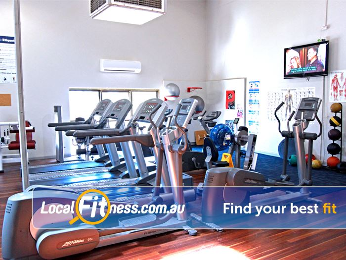 RecWest Footscray Multiple treadmills so you don't have to wait.