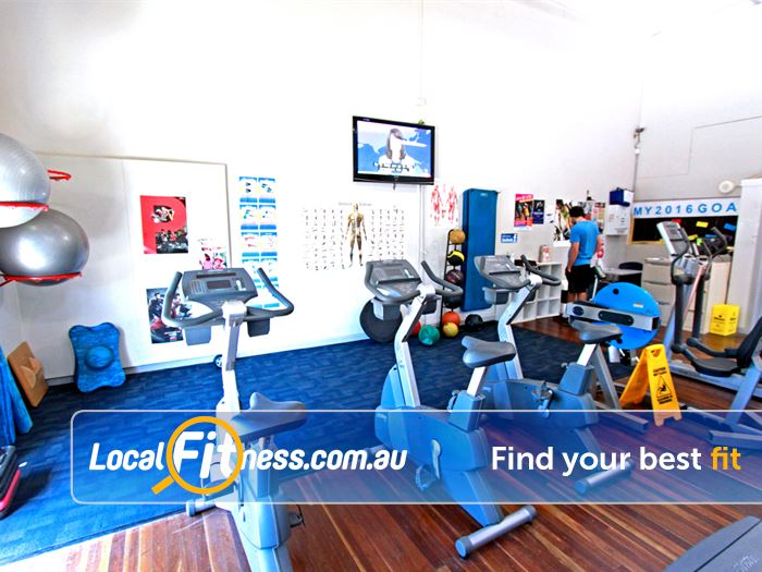 RecWest Near Seddon Vary your workout with indoor cycle bikes.