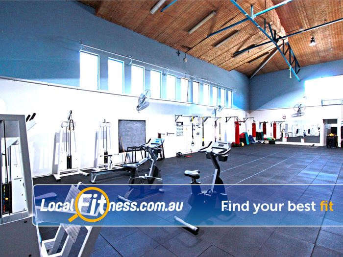 RecWest Footscray The fully equipped Footscray functional training zone.