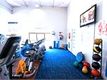 RecWest West Footscray Gym Fitness The ab and stretching space at