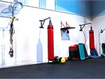 RecWest Footscray Gym Fitness Our Footscray boxing area.