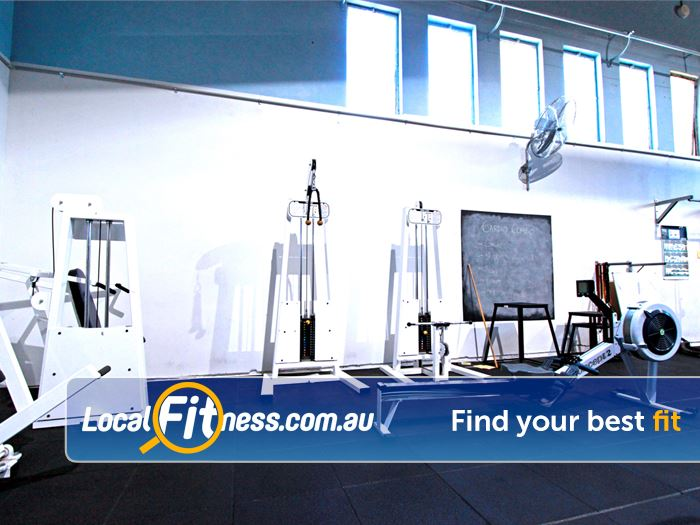 RecWest Near West Footscray Circuit training area including strength and cardio.