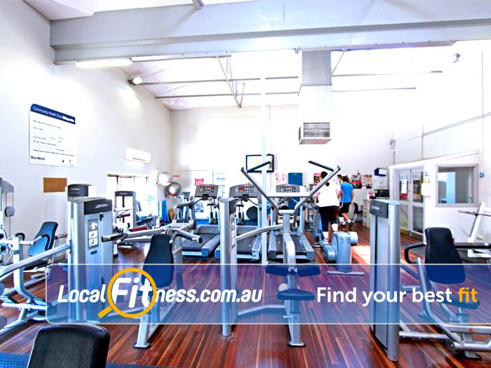 RecWest Footscray Our Footscray gym includes state of the art Life Fitness equipment.