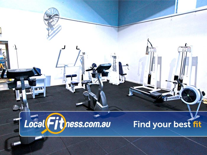 RecWest Footscray Circuit training area including strength and cardio.