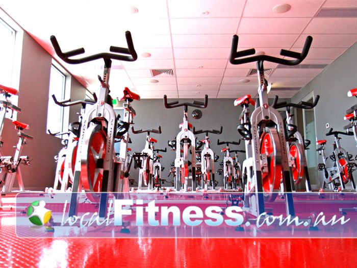 Genesis Fitness Clubs Blackburn South Gym Fitness 40 cycle bikes in the purpose