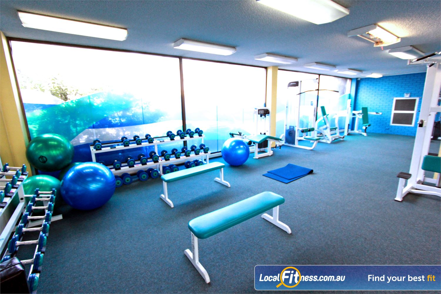 Fernwood Fitness Near Lurnea We provide the right fitness and weights to help women lose weight.