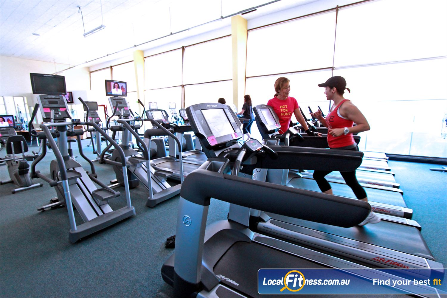Fernwood Fitness Liverpool Liverpool personal trainers will help you enjoy fitness cardio training.