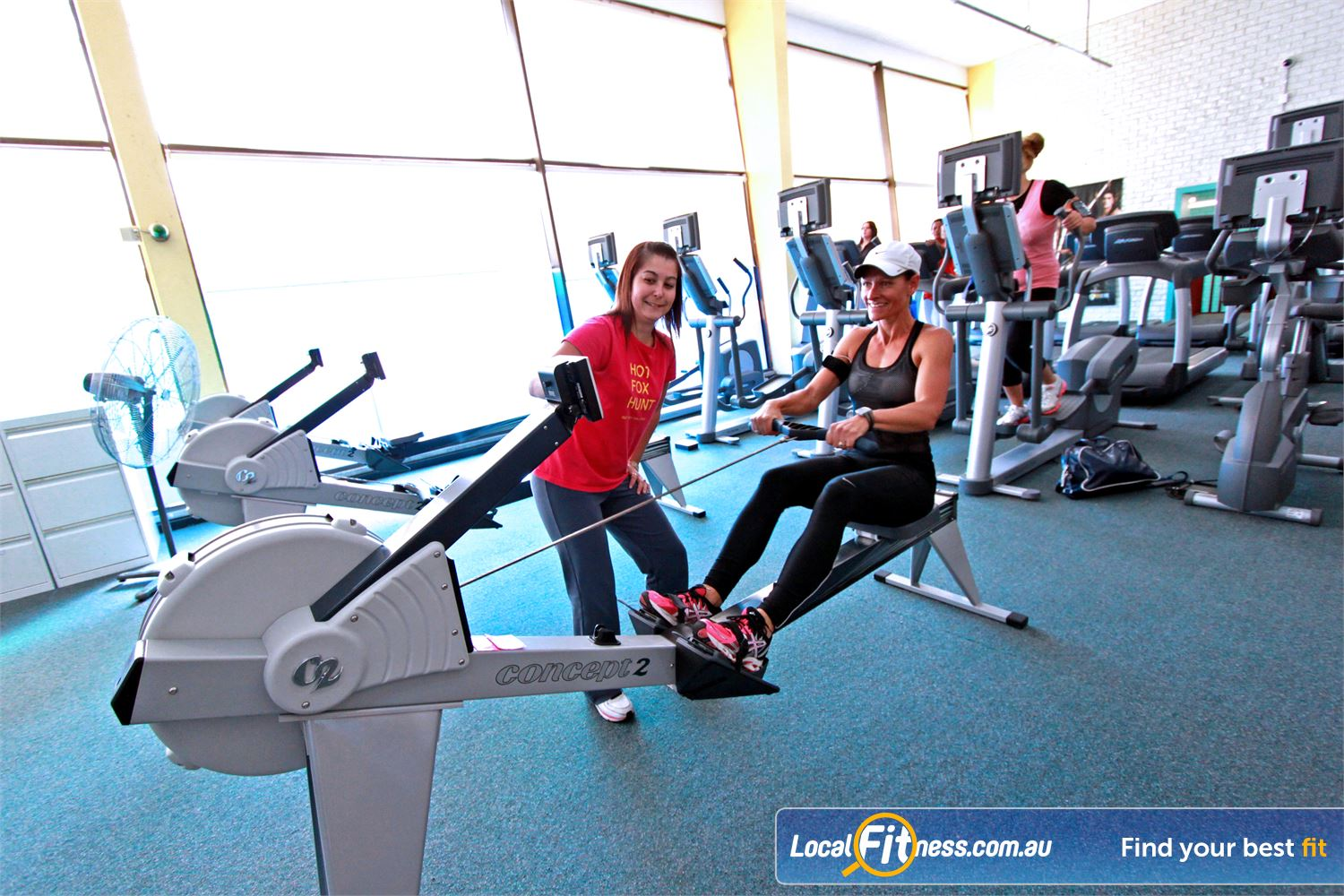 Fernwood Fitness Liverpool Vary your workout with our HUGE range of cardio, including indoor rowing in Liverpool.